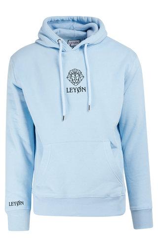 LEYON Leyon Hoody Logo Licht blauw