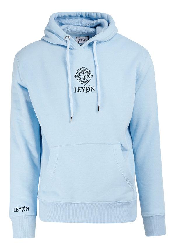 Leyon Hoody Logo Licht Blauw