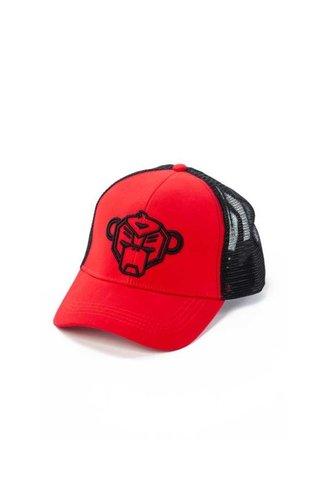Black Bananas Jr. Wavy Trucker Cap Red