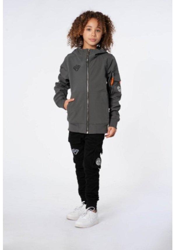 JR. Softshell jacket Grey