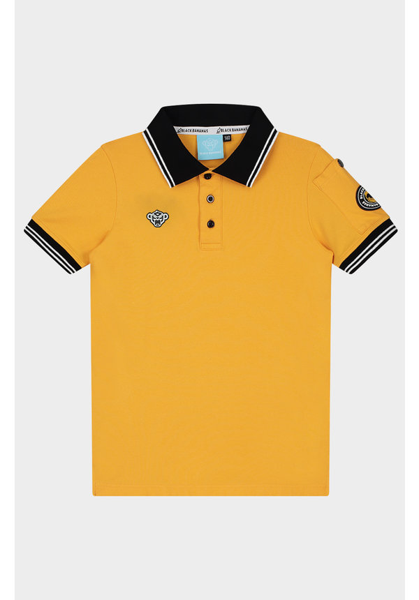 JR. Wavy Polo Yellow
