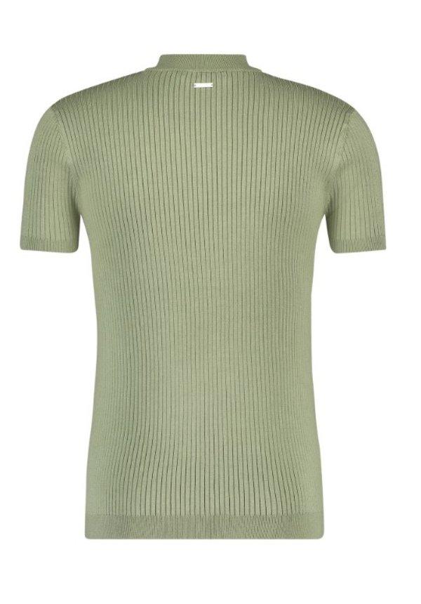 SS21 21010823 Hals T-Shirt Army Green