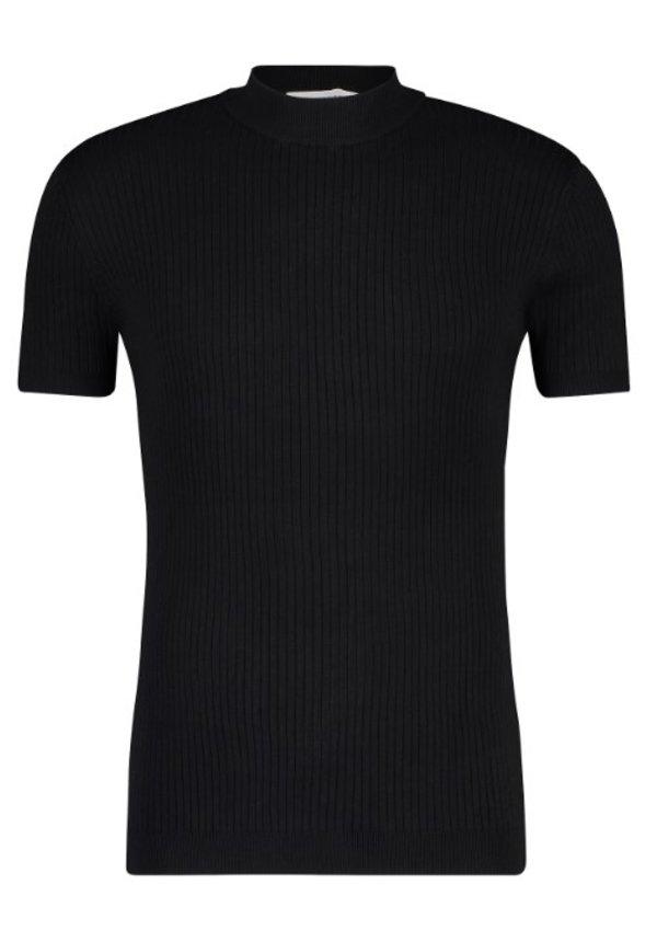 SS21 21010823 Hals T-Shirt Black