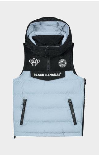 Black Bananas Black Bananas Jr. Block Anorak Bodywarmer Light Blue