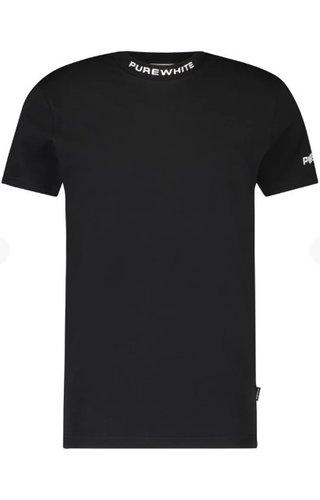 Purewhite SS21 21010115 Purewhite T-Shirt Black