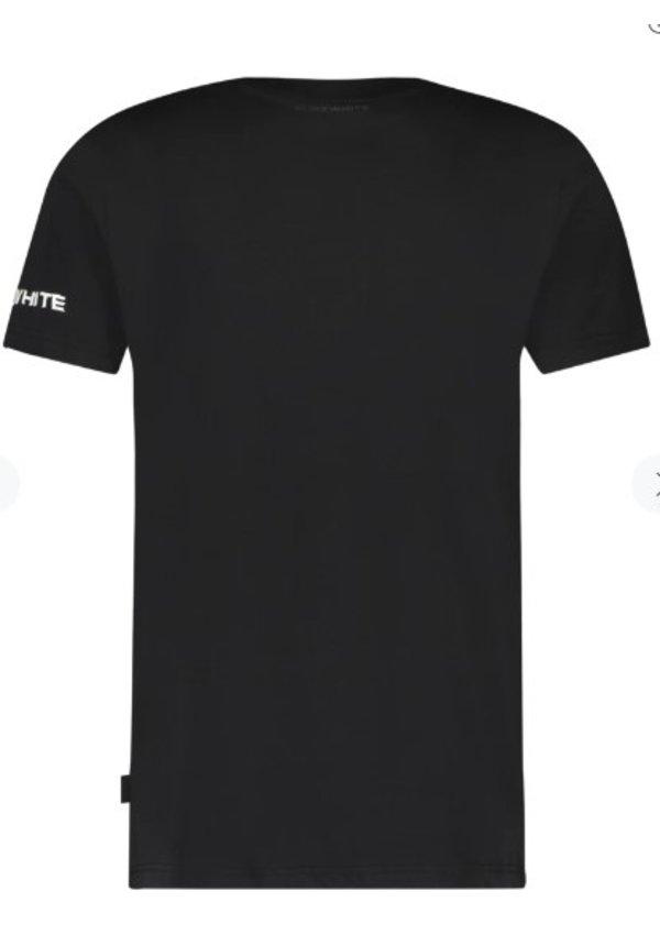 SS21 21010115 Purewhite T-Shirt Black