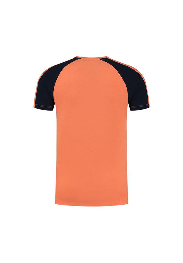 Sport Striker T-shirt Navy-Salmon