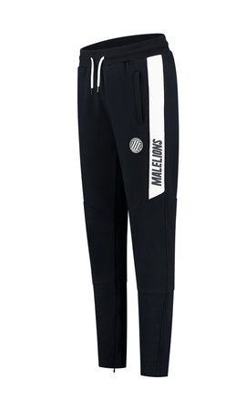 Malelions Sport Coach Trackpants Dark-Navy - White