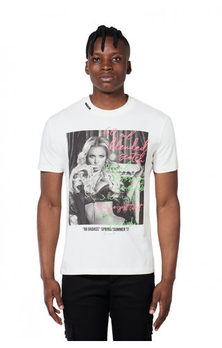 My Brand Badass Drink T-Shirt Off-White