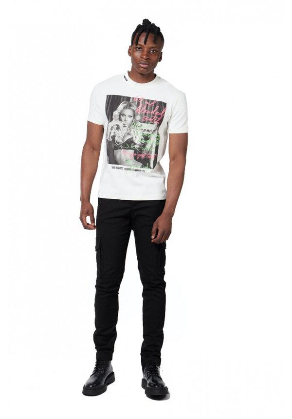 Badass Drink T-Shirt Off-White