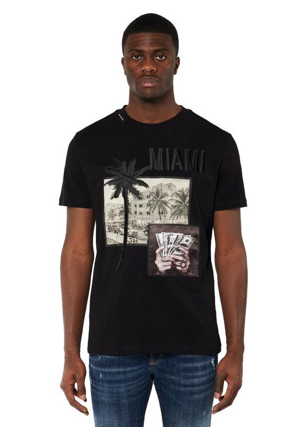 City Miami T-Shirt Black