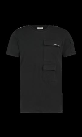 Purewhite Utility Pocket T-shirt Black