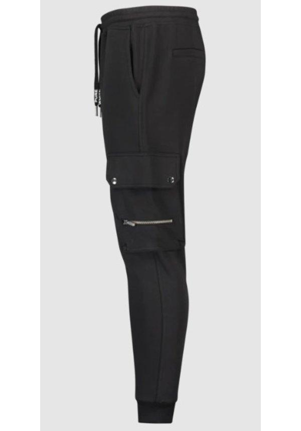 Purewhite Trackpants Black