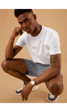 Off The Pitch The Galaxy Slimfit Tee White
