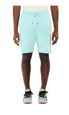 My Brand Basic Varsity Short Aqua Splash