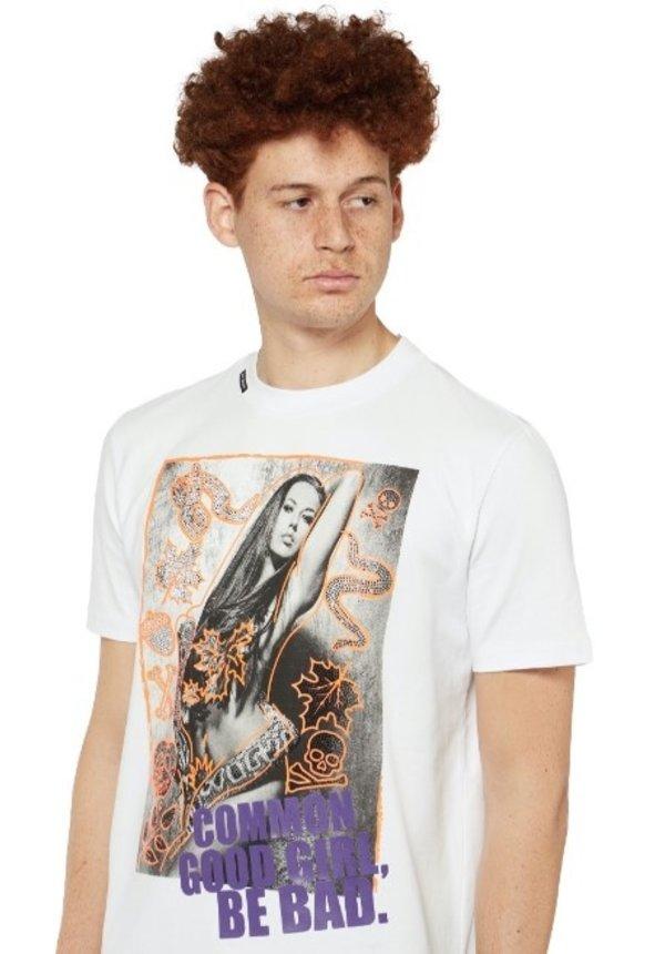 Poison Photo T-Shirt White