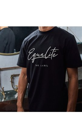 Equalité Wafi Signature Tee Black & Beige