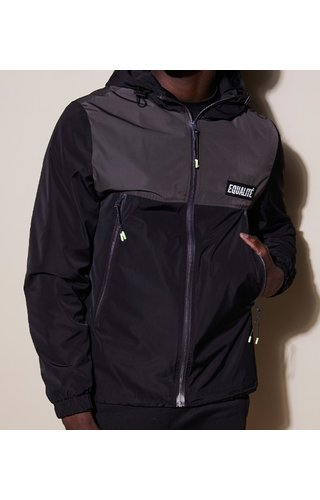 Equalité Alix Windbreaker Black & Antra