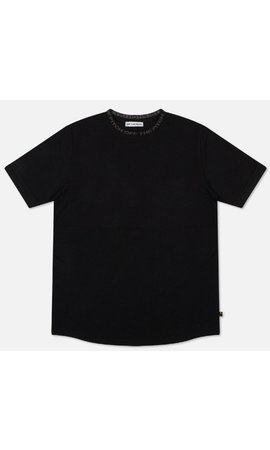 Off The Pitch The Solar Slimfit Tee / Black