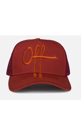 Off The Pitch The Saga Trucker Red