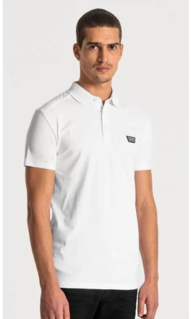 Polo Super Slim Fit - White