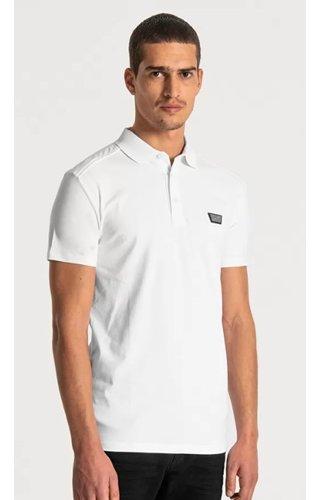 Polo Super Slim Fit - White