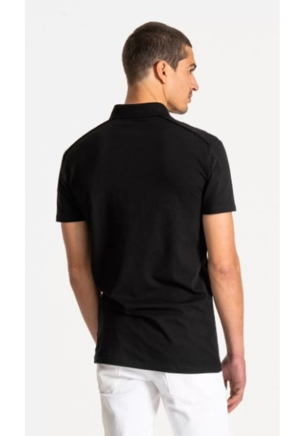 Polo Super Slim Fit - Black