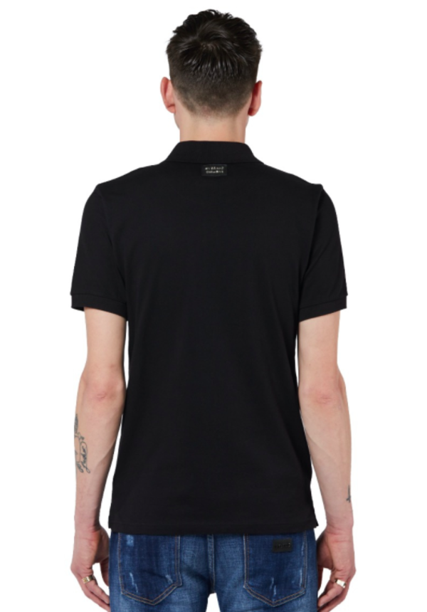 Basic Varsity Polo Black