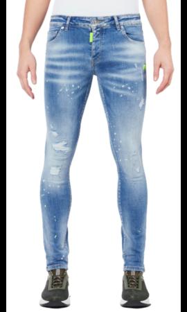 My Brand Neon Yellow Denim Light Jeans