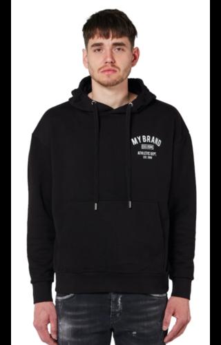 My Brand Basic Varsity Hoody Black