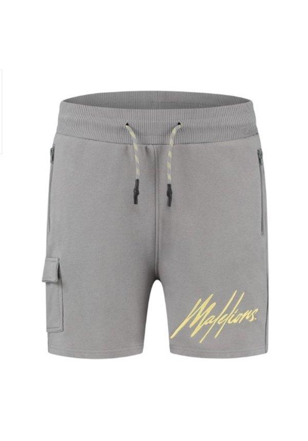 Pocket Short Matt Grey - Yellow