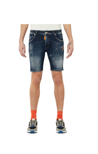 My Brand Neon Orange Jeans Short