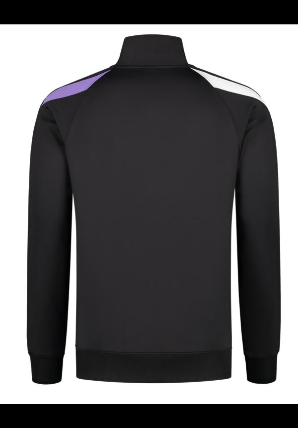 Black - Purple Quarterzip