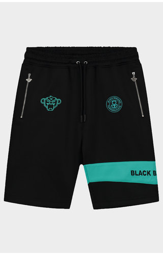 Black Bananas Black/ Aqua Command Short