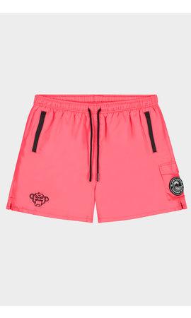 Black Bananas Pink Palm Pocket Swimshort