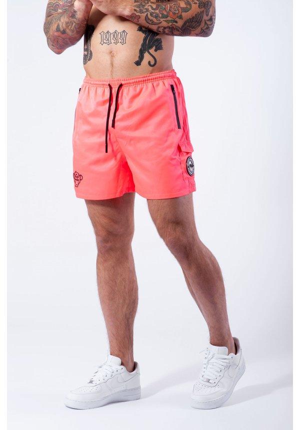 Pink Palm Pocket Swimshort