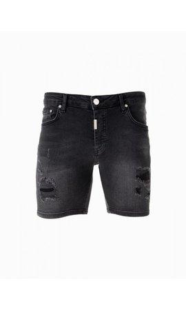 AB-Lifestyle Short Jeans- Black