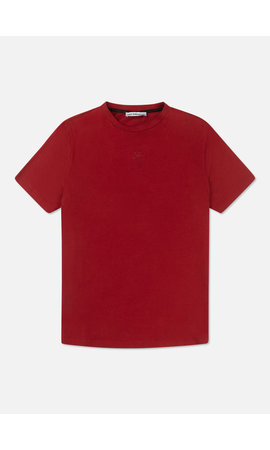 Off The Pitch The Soul Slimfit Tee- Dark Red