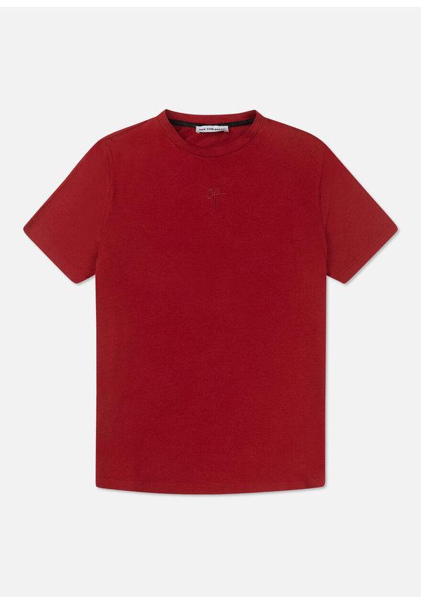 The Soul Slimfit Tee- Dark Red
