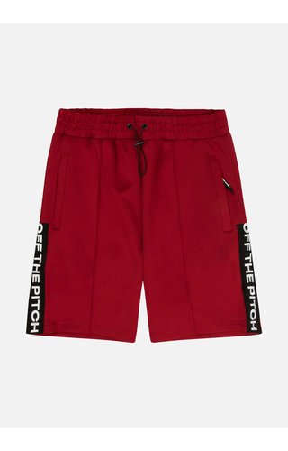 Off The Pitch The Soul Short - Dark Red