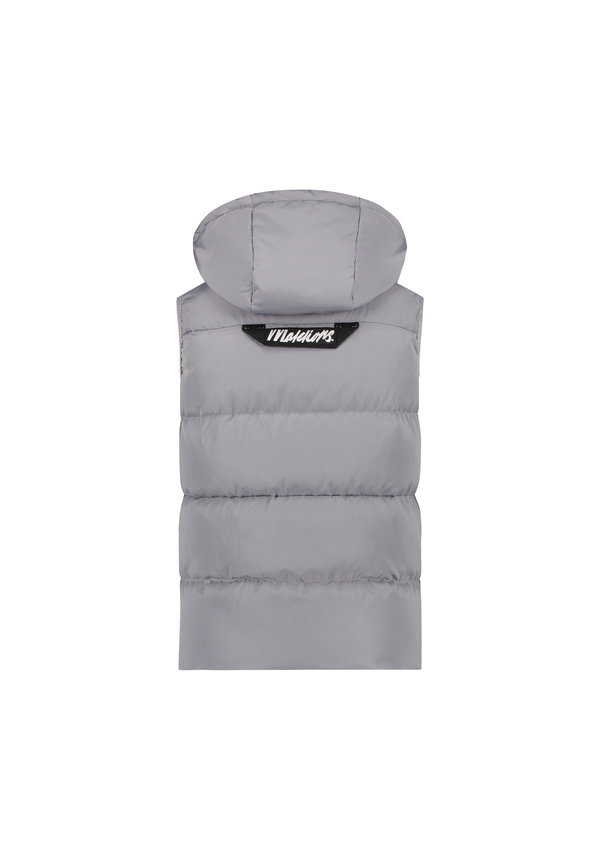 Men Pocket Bodywarmer Light Grey