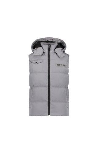Malelions Men Pocket Bodywarmer Light Grey