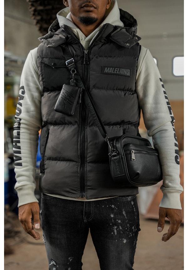 Men Pocket Bodywarmer Black-Antra