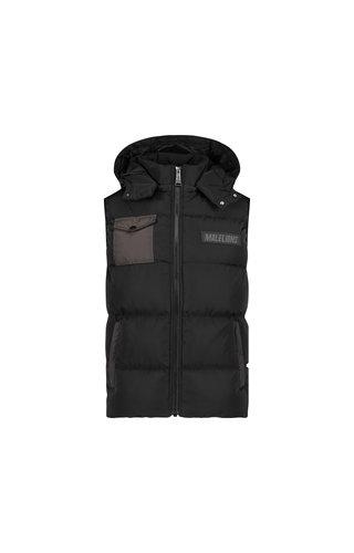 Malelions Men Pocket Bodywarmer Black-Antra
