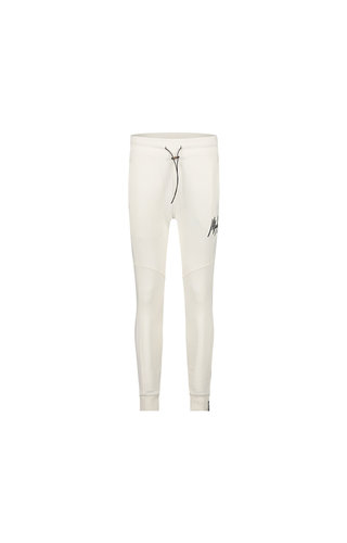 Malelions Essentials Trackpants - Off White