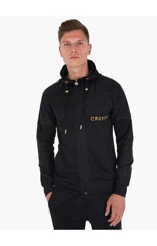Cruyff Herrero Zip- thru Hood - Black