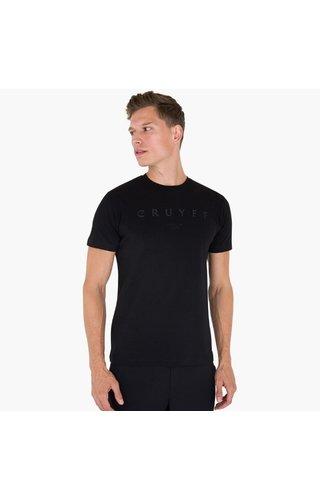 Cruyff Lux SS Tee - Black
