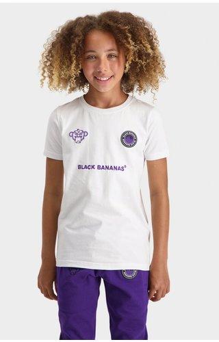 Black Bananas JR Monkey Tron Tee - White
