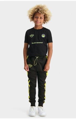 Black Bananas JR Analog Trackpants - Black/Lime
