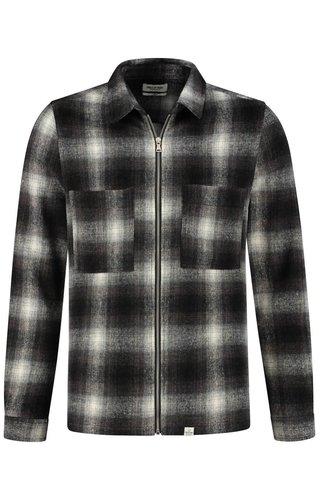 Circle of trust Jack Jonah Zip Shirt Pavement Check